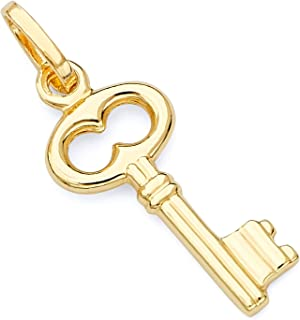 Best 14k gold key charm Reviews