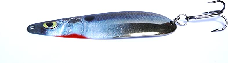 MESU Bait Company The Curse Brent Chapman Flutter Spoon, Bait Fish, 1.2-Ounce