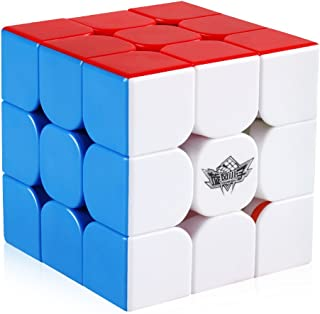Coogam Cyclone Boys 3x3 Magnetic Speed Cube Stickerless 3x3x3 Magic Puzzle Toy (FeiJue M Version)