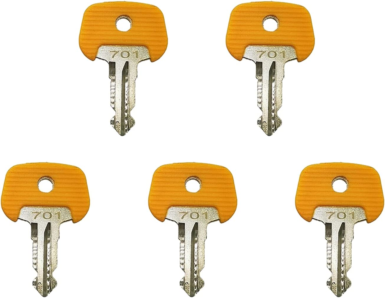 Weelparz Austin Mall 701 28520480 5pcs Ignition Austin Mall Key with Compatible Junghein