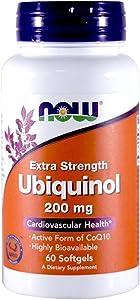 Ubiquinol 200 mg Extra Strength 60 Softgels (Pack of 2)