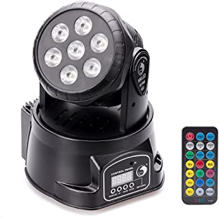 Moving Head Stage Effect Light U`King 7x10W 4 color RGBW LED 5 control mode DJ KTV disco banquet hall