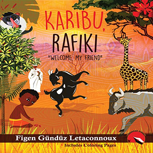 Karibu Rafiki: Welcome, My Friend audiobook cover art