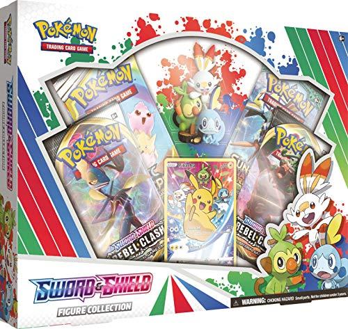Pokemon TCG: Colección de Figuras de Espada y Escudo