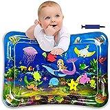 Aufblasbare Wassermatte Groß,Wassermatte Baby Spielzeug,Aufblasbare Bauchzeit Matte,Wassermatte Baby Bpa Frei,Baby Spielzeug ab 0 Monate,Baby Spielzeuge 3 6 9 Monate (B)