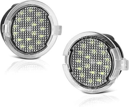 VIPMOTOZ® - Lámpara LED de repuesto para Ford F-150 Expedition Explorer Edge Flex Fusion Taurus X Lincoln Mercury, 6000 K, diamante blanco, 2 piezas