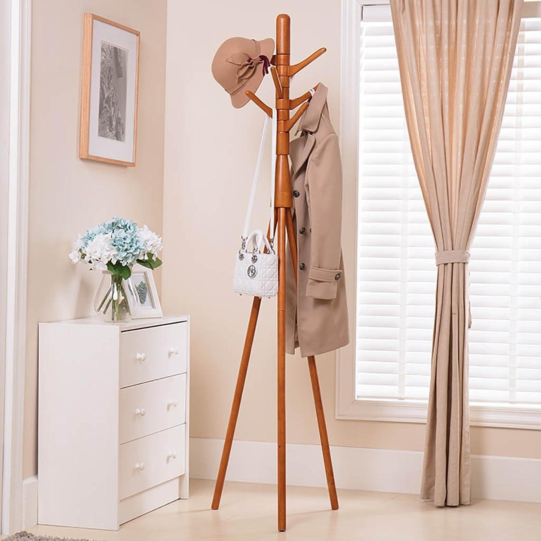 Coat Rack Solid Wood Coat Rack Simple Coat Rack Bedroom Home Creative Clothes Rack Coat Rack