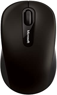 Microsoft PN7-00009 Bluetooth 4.0 4-Way Scroll Wheel Blue Track Technology Mouse - Black