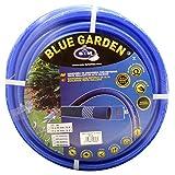 "S&M 553035 Manguera de jardinería Reforzada Blue Garden, Azul, Rollo 50 Metros- 15 x 20 mm- (5/8"")"