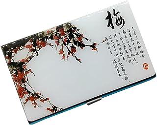Porte-cartes en métal avec porte-cartes