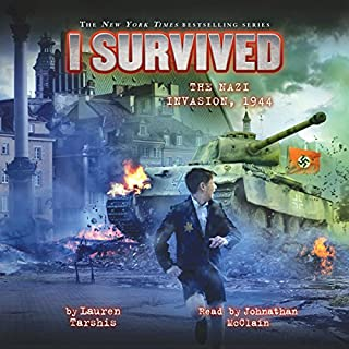 I Survived the Nazi Invasion, 1944     I Survived, Book 9              Auteur(s):                                                                                                                                 Lauren Tarshis                               Narrateur(s):                                                                                                                                 Johnathan McClain                      Durée: 1 h et 24 min     3 évaluations     Au global 4,0