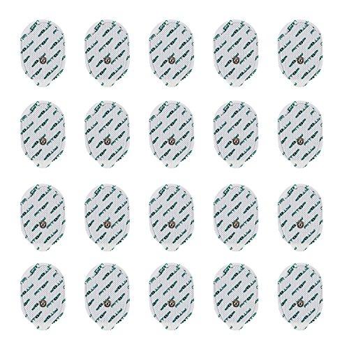 FITOP 20 Pz Cuscinetti ad Elettrodi Pad Con Connettore a Scatto a Forma Di Mano e Super Gel