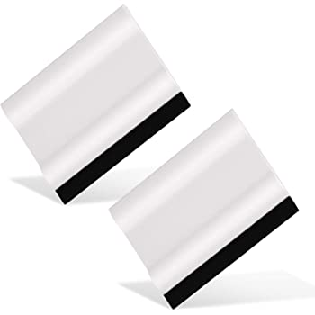 """Ehdis 3"""" Block Squeegee Car Rubber Squeegee Work with Film, Stickers, Decals and Vinyl [2 pcs]"""