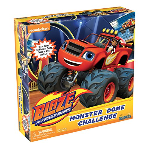Blaze and the Monster Machines Monster Dome Challenge Game by Briarpatch