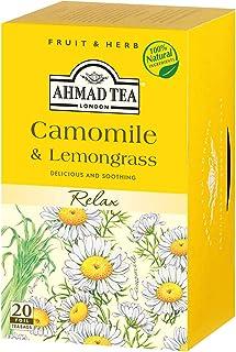 AHMAD TEA カモミール&レモングラス 20P 30g