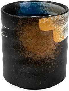 كوب قهوة من السيراميك بتصميم مثالي للاتيه والكابتشينو وامريكانو وعشاق الاكواب الرائعة من ميبرو، سعة 225 مل