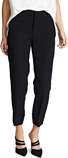Women's Cuffed Coin Pocket Trousers