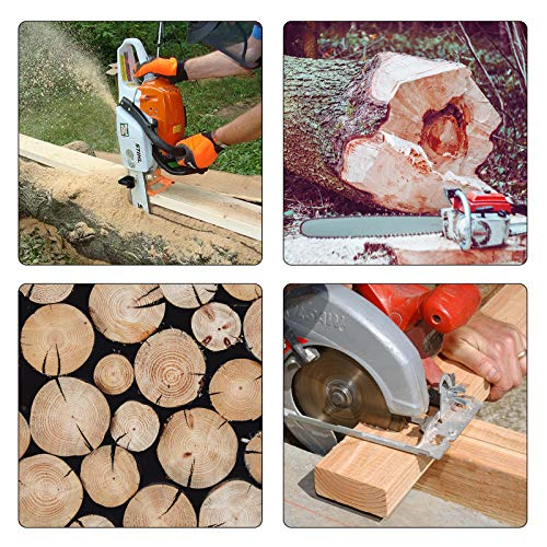 BotaBay Vertical Chainsaw Mill Lumber Cutting Guide Saw Steel Portable Timber Chainsaw Attachment Cutting Milling Wood for Lumberjack
