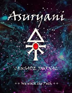Asuryani Crusade Journal We Walk the Path: Battle Tracker WH 40K Planner Gamer Gift