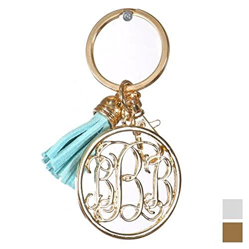 Initial Key Chains: Amazon com
