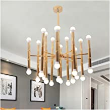 HN Lighting Chandelier, Postmodern Minimalist Living Room Bedroom Pendant Light Interior Furniture Lighting Fixtures Ironi...