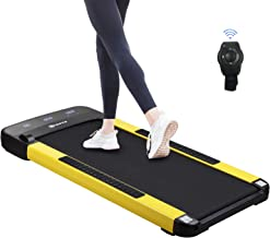 ZENOVA Walking Treadmill, Under Desk Electric Treadmill, Slim Quiet Walking Pad with Smart Watch Remote 12 Preset Programs...