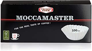 Technivorm Moccamaster 85025 Moccamaster White Paper Filters, One Size