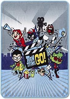 Franco Teen Titans Throw Blanket 46x 60