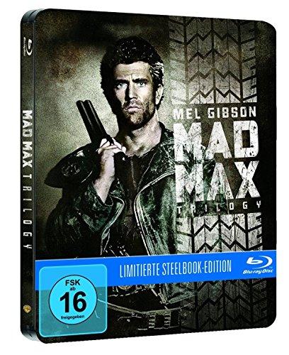 Mad Max 1-3 Steelbook (Uncut)