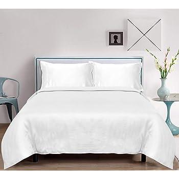 Cal King Bamboo Sheets Set 4 PC - 100% Pure, Natural, Organic, Softest Cooling, Christmas Bedding (California King, White)