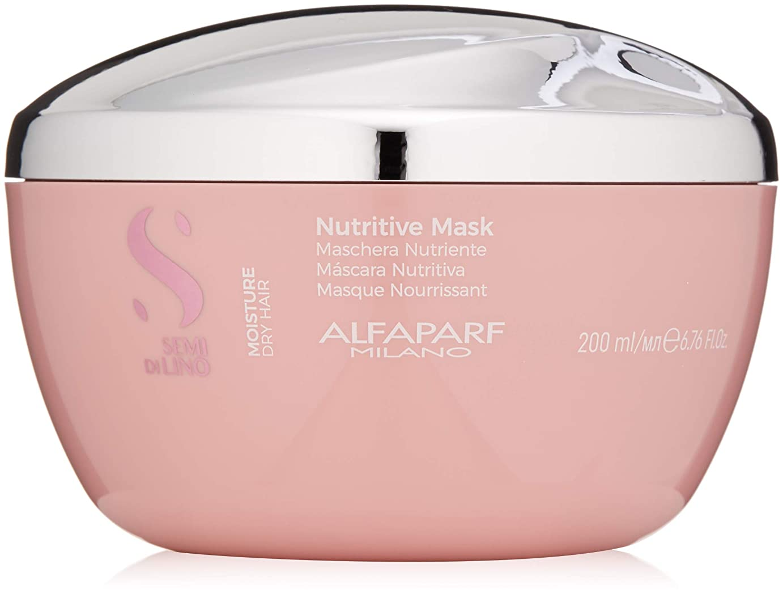 呼吸アルバムラフアルファパルフ Semi Di Lino Moisture Nutritive Mask (Dry Hair) 200ml/6.76oz並行輸入品
