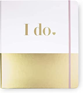$48 » Kate Spade New York Bridal Wedding Planner Binder, Personal Organizer for Bride with Pages for To-Do Lists, Notes, Budgeti...