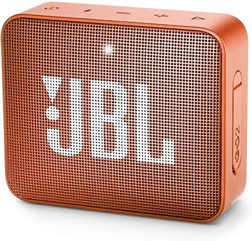 JBL GO2 Waterproof Ultra Portable Bluetooth Speaker (Orange)