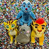YLLAND 4Pcs The Lion King Guard Kion Bunga Fuli Simba Rafiki Timon Pumbaa Plush Toy 20Cm,Soft Stuffed Animals Kids Gifts