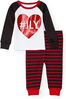 Baby Girls' I Love You 2 Piece Pajamas