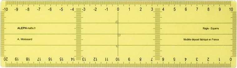 ALEPH Régle Equerre Grand Modèle - 20 cm