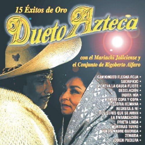 Dueto Azteca Con El Mariachi Jaliscience Y El Conjunto De Rigoberto Alfano