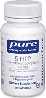 Pure Encapsulations 5-HTP 50 mg | 5-Hydroxytryptophan Supplement for Brain, Sleep, Eating Behavior, Mood, a...