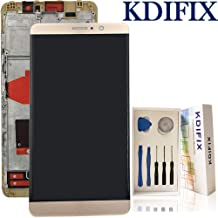 KDIFIX for Huawei Mate 9 LCD Touch Screen Assembly with Full Professional Repair Tools kit (Golden+Frame)