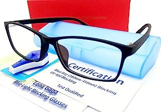 Blue Light Block Glasses Men Women Anti Eye Strain Headache Computer Video Gaming Glasses Gamer Filter Screen Glare UV Pro...