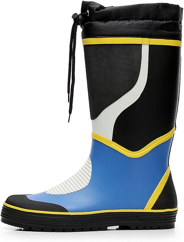 Europa Und Die Vereinigten Staaten Mode Herren Stiefel High Wasserschuhe Outdoor Fishing Wasserdichte Schuhe