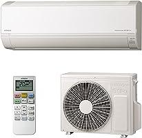 【商品配送のみ】日立 エアコン 8畳 2.5kW 白くまくん Dシリーズ RAS-D25L(W)/SET 凍結洗浄 Light ステンレス・クリーン 室内機室外機セット (2梱包)
