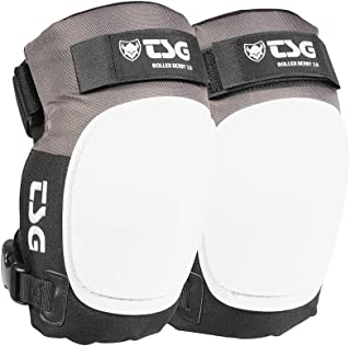 TSG Roller Derby 3.0 Kneepads - Outdoor Sports Protective Gears - Adjustable Roller Derby Safety Gears Knee Pads - Small