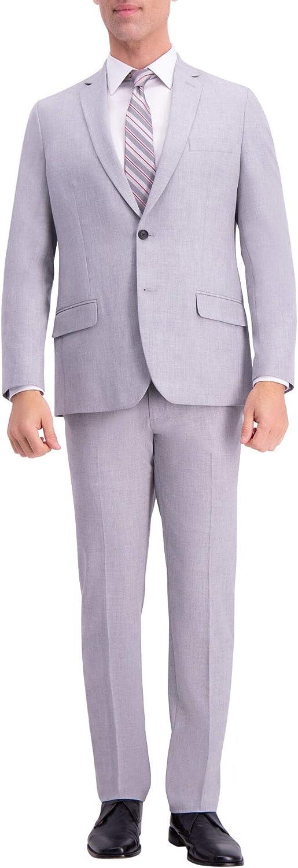 J.M. Haggar Men's Big and Tall Slim 4 Way Stretch Suit Jacket