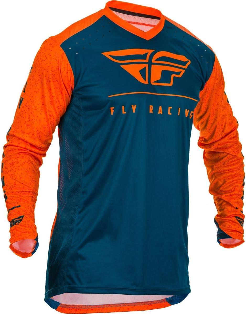 Fly Racing 2020 Lite Hydrogen Jersey Orange//Navy X-Large