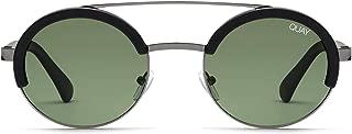 Quay Australia COME AROUND Women's Sunglasses Round with Brow Bar