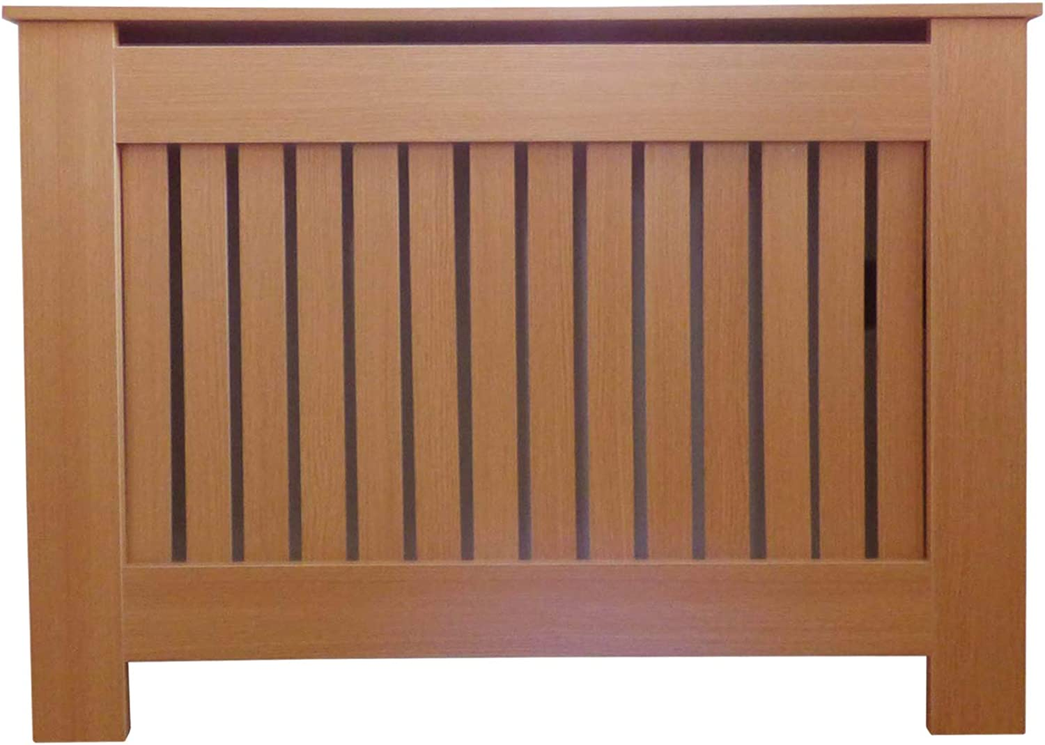 Jack Stonehouse Oak Modern MDF Radiator Cover Cabinet with greenical