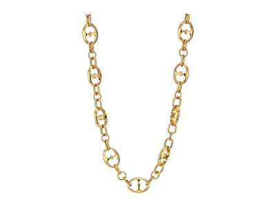 Kate Spade New York Duo Link Necklace (Gold) Necklace
