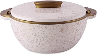 ORCHID STAINLESS STEEL SPARKLE CASSEROLE GOLD 2500ML