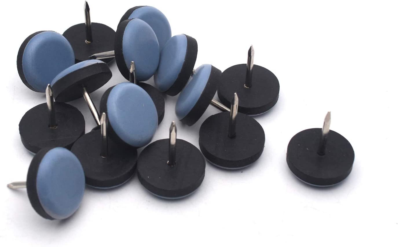 Antrader 16 Pack Nail On Round Pad Furniture Bases Surprise price Slider Max 47% OFF Table